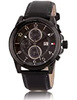 Tommy Hilfiger Analog Black Dial Men's Watch - TH1710295J