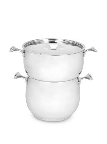 Art & Cuisine Chaudron Series Couscous Pot with Steamer (Stainless Steel)
