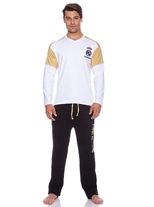 Licencias Pijama Ml Real Madrid (Blanco/Negro)