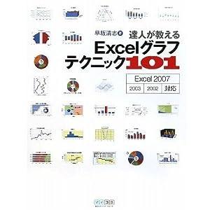 達人が教える Excelグラフテクニック101 Excel 2007/ 2003/ 2002対応 [単行本(ソフトカバー)]
