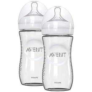 Philips AVENT Natural Glass Bottles