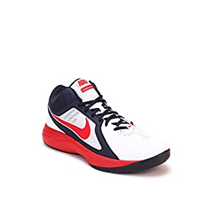 The Overplay Viii White Basketball Shoes Nike