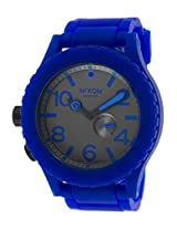 Men'S Rubber 51-30 Royal Blue Rubber Gunmetal Dial (A236306-00)