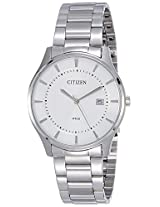 Citizen Analog White Dial Men's Watch - BD0041-54A