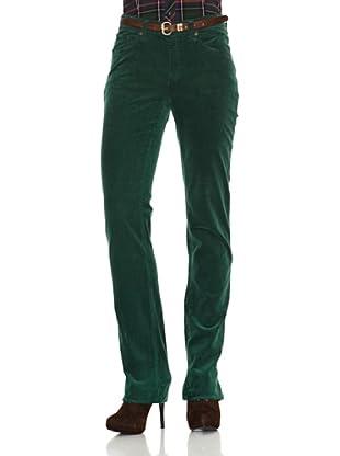 Gant Pantalón 5 Bolsillos (Verde)