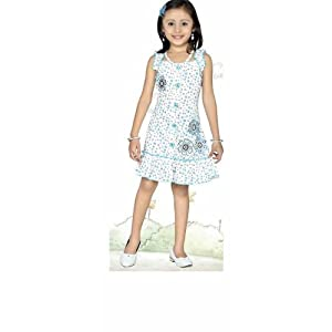 MaEbag 2898 Polycotton Frock Ceemee-White