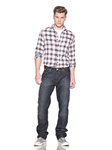 Under Two Flags Men's Idol Jeans (Mechanic Wash)