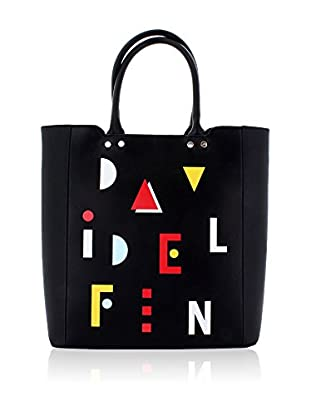 davidelfin Bolso shopping Name Game Negro
