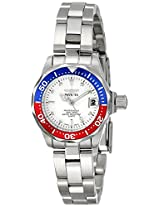 Invicta Watches, Women's Pro Diver White Dial Stainless Steel, Model 8940