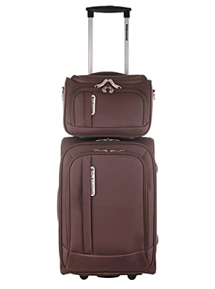 Platinium Set Trolley & Beauty Case (Braun)