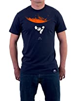 "Tricolor Nation India Pride T-shirt ""Mangalyaan!"" for Men"