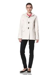Jane Post Women's Short Duffle Coat (Bone)