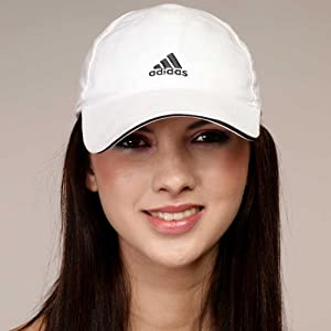 Adidas Unisex Caps-White