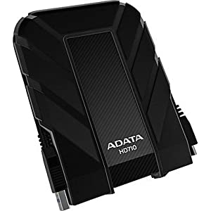 ADATA DashDrive Durable HD710 1TB External Hard Drive (Black)