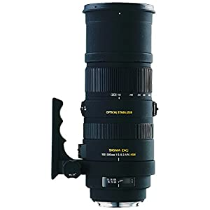 Sigma 150-500mm F/5-6.3 DG OS HSM Telephoto Zoom Lens for Canon DSLR Camera