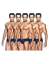 Euro Assorted Men'S Regular Briefs- Pack Of 5