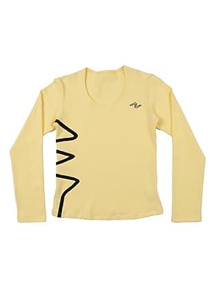 Naffta Camiseta Manga Larga Tur (Amarillo)