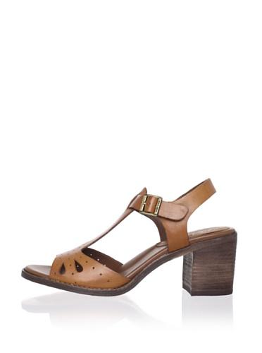Kork-Ease Women's Betheny T-Strap Sandal (Avana (Cognac))