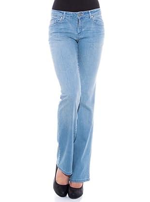 7 Seven LA Pantalón Madonna (Azul Desgastado)