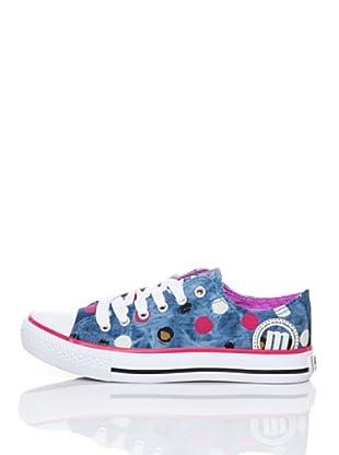 MTNG Zapatillas Cordones (Azul Denim)