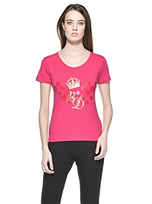 Bramante T-Shirt Crown (Fucsia)
