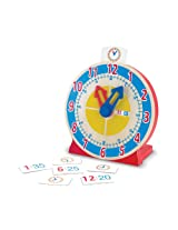 Melissa & Doug Turn and Tell Clock