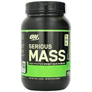 Optimum Nutrition (ON) Serious Mass - 3 lbs (Chocolate)