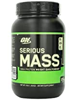 Optimum Nutrition Serious Mass, No Sugar Added - 3 lbs (Chocolate)