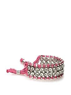 Rolf Bleu Montana Bold Adjustable Bracelet (Fuschia)