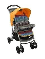 Graco Mirage Plus Stroller, Jaffa Stripe