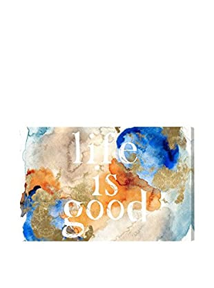 Oliver Gal 'Life Is Good' Canvas Art