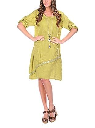 100% Lino Vestido Lori