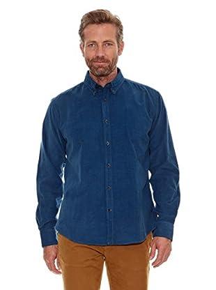 Cortefiel Camisa Pana (Azul)