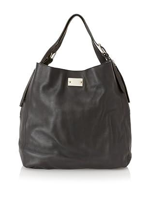 MARNI Women's Side Zip Shoulder Bag, Black