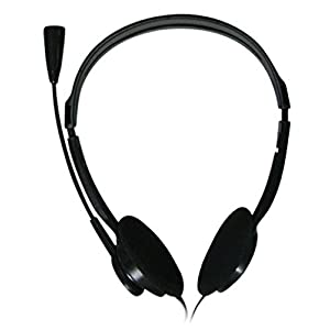 ADNET AD-301 on-ear Headphones (Black)