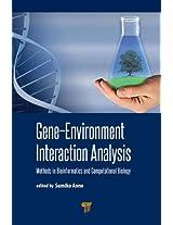 Gene-Environment Interaction Analysis: Methods in Bioinformatics and Computational Biology