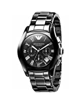 Emporio Armani AR1400 Black Ceramic Watch