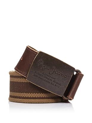 Pepe Jeans London Cinturón Hans Belt (Marrón)