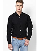 Black Full Sleeves Casual Shirts Allen Solly