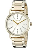 DKNY Analog White Dial Women's Watch - NY2417