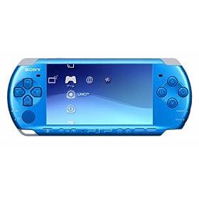 PSP「プレイステーション・ポータブル」 バイブラント・ブルー(PSP-3000VB)