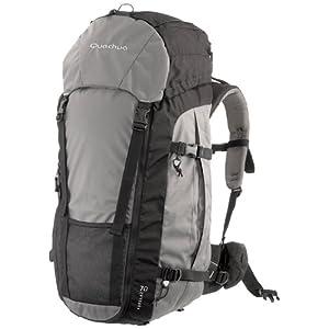 Quechua Hiking Backpack, 70L (Grey)