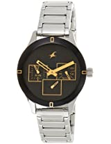 Fastrack Monochrome Analog Black Dial Men's Watch - 6078SM09