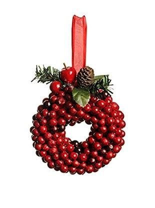 Evergreens Colgante Árbol Hanging Ring Rojo