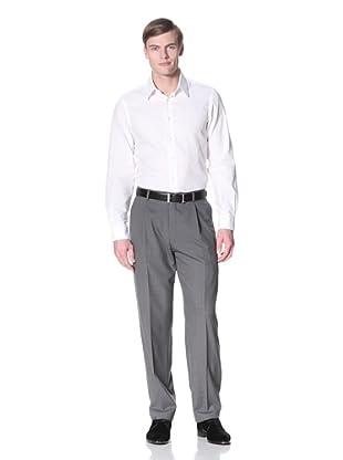 Hart Schaffner Marx Men's Check Trouser (Grey)