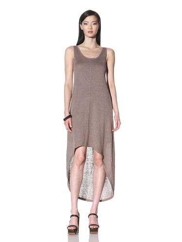 Cullen Women's Scoop Neck Linen Maxi Dress (Pebble)
