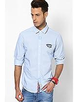 Blue Casual Shirts