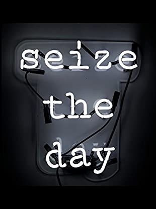 Oliver Gal Seize The Day Neon Sign, Multi