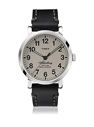 TIMEX Quarzuhr Man The Waterbury Tan schwarz 40 mm