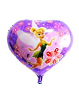 Madcaps Tinkerbell Foil Balloon (Pack Of 2) (Purple)